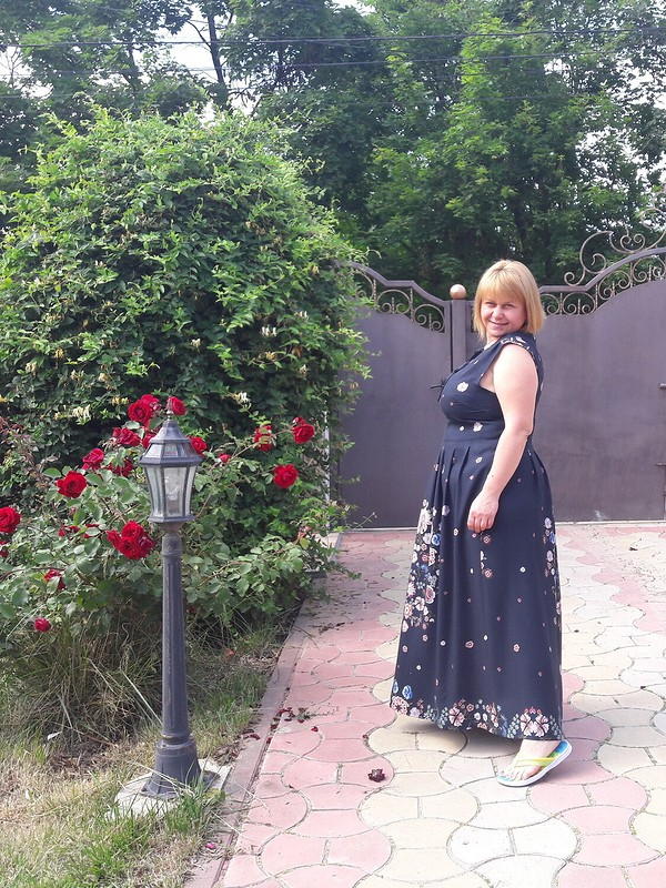 Платье изкупона от Ирина_72