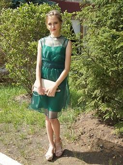 Работа с названием Платье на выпускной