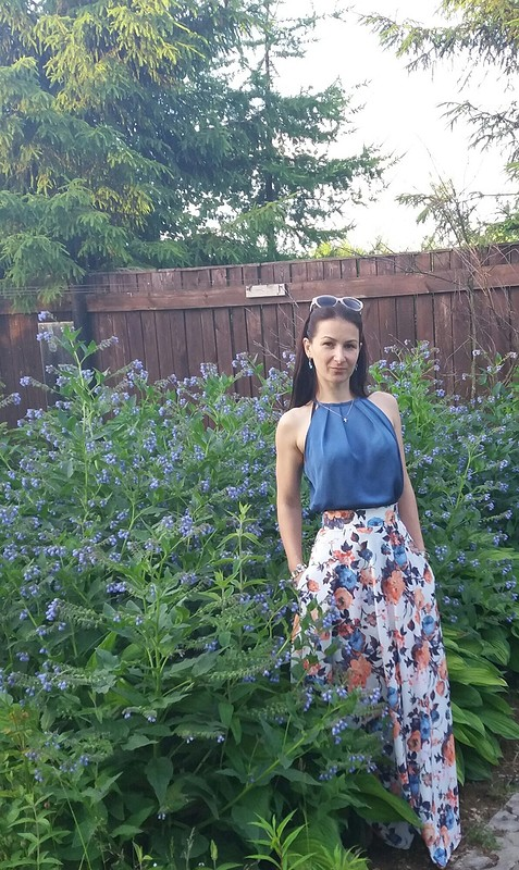 Случайный комплект топ+юбка от Mariya_K