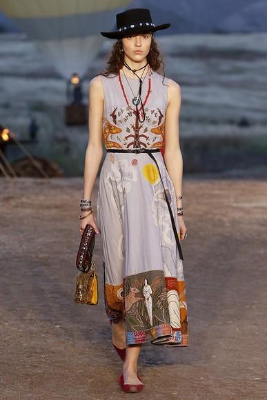 Дикий, дикий Запад: круизная коллекция Dior 2018