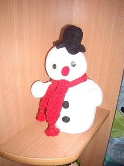 Работа с названием Снеговики летом))))