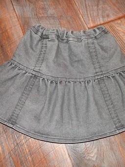 Работа с названием Юбочка джинсовая для дочки