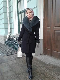 Работа с названием Зимнее пальто для дочки