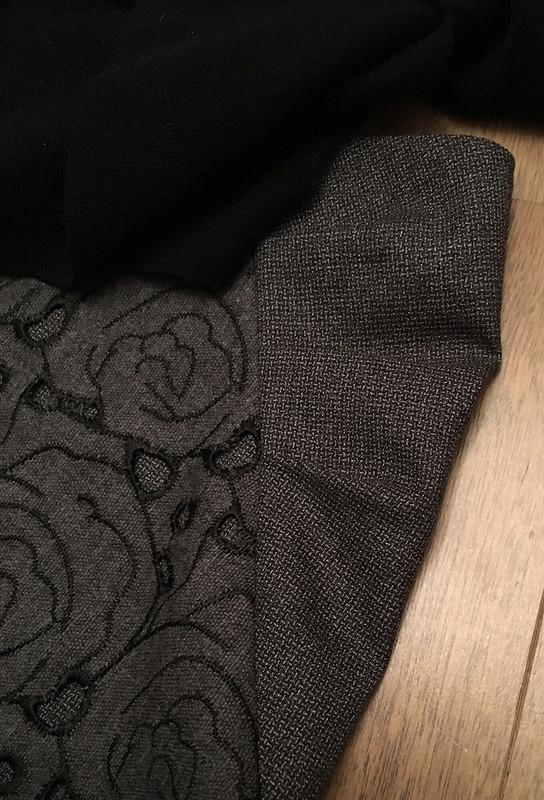 Юбка излегкой костюмки ишерстяного шитья