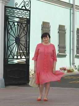 Работа с названием Легкомысленное платье