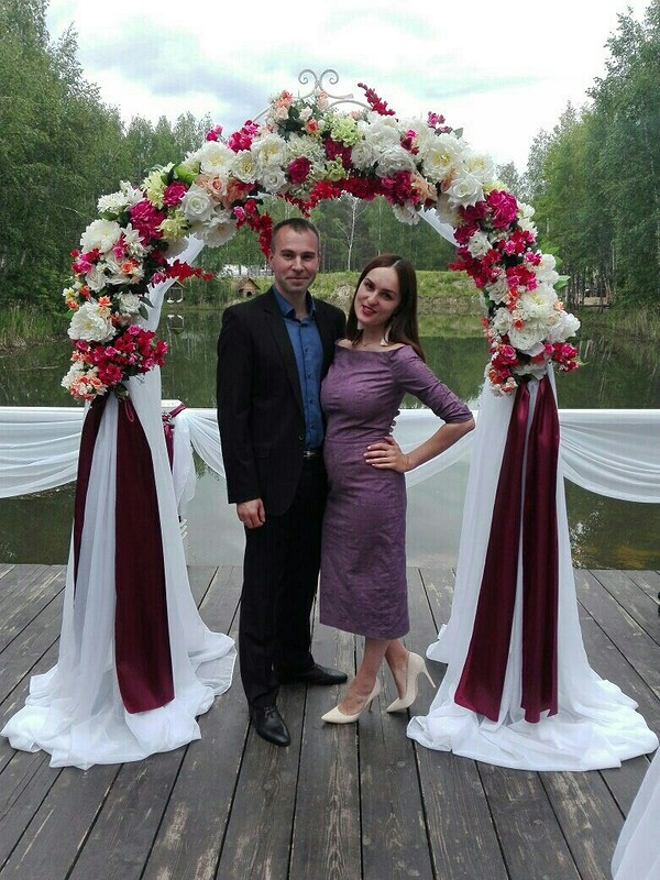 Платье насвой первый юбилей от olyatish