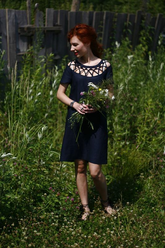 Платье изльна