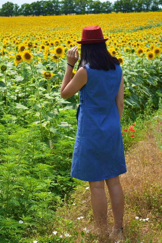 Июльское платье