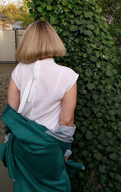 Белая блуза. Базовый гардероб