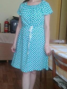 Работа с названием Удобное платье