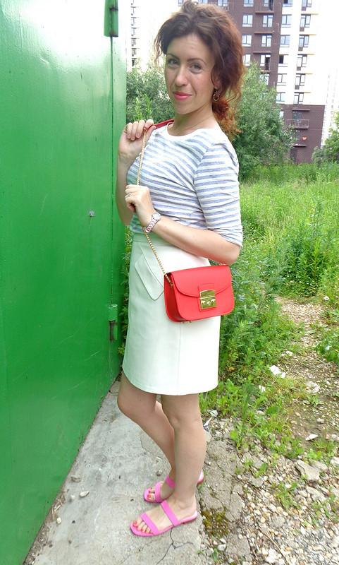 «Розовая» юбка от Ирина кудряшка