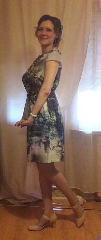 Платье-картина от natalyaabr