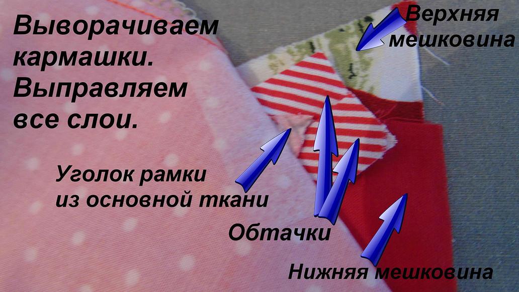 Прорезной карман «в рамку» склапаном