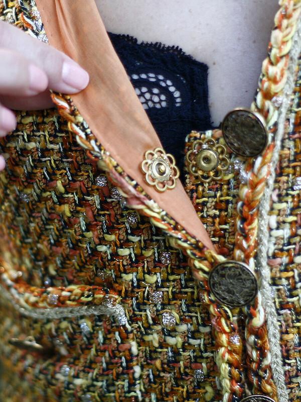 Реплика Chanel повыкройке 118 изBurda 2/2013