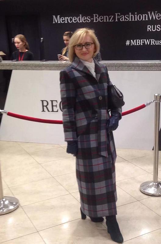 Пальто встиле ретро от Елена Ворончихина