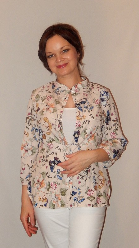 Блуза ибрюки от Катя Лузина
