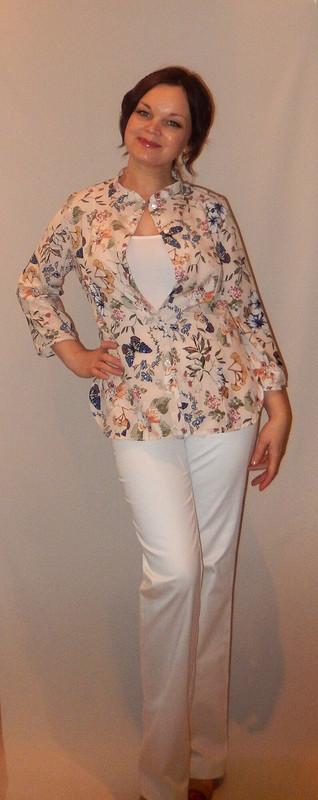 Блуза ибрюки