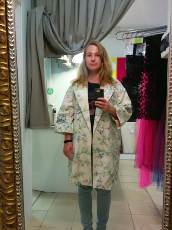 Летнее пальто-кимоно от alexandrareyss