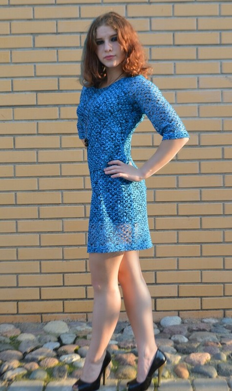 Платье изкружева