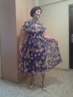 Работа с названием Французское платье