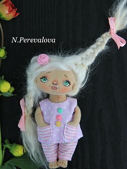 Работа с названием Кукла текстильная
