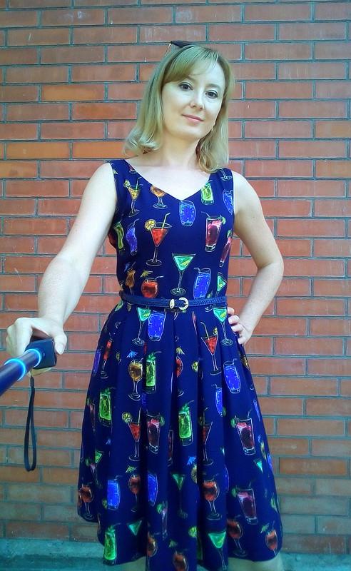 Платье Коктейли
