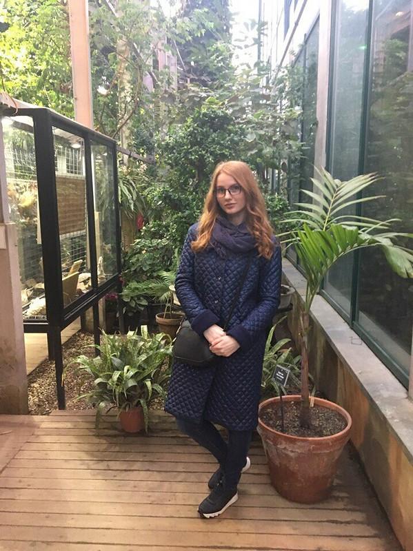 Синее пальто. от sneg_s