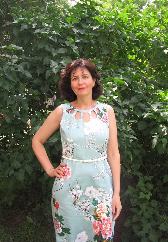 Платье скаплями от Valentina Z