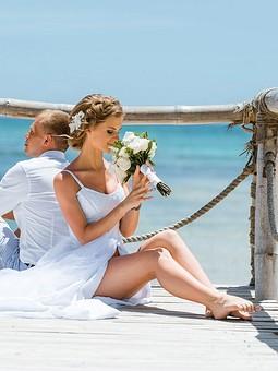 Работа с названием Райская свадьба