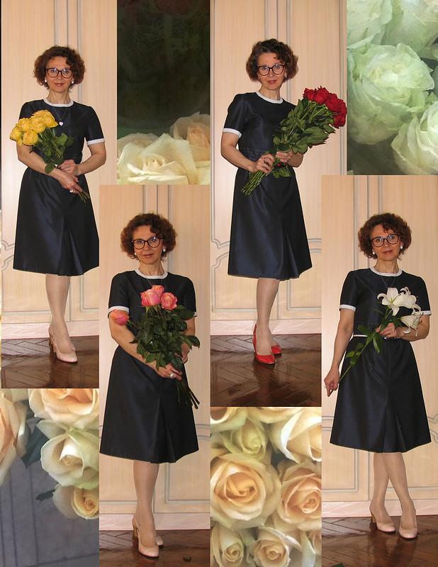 55 роз надень рождения