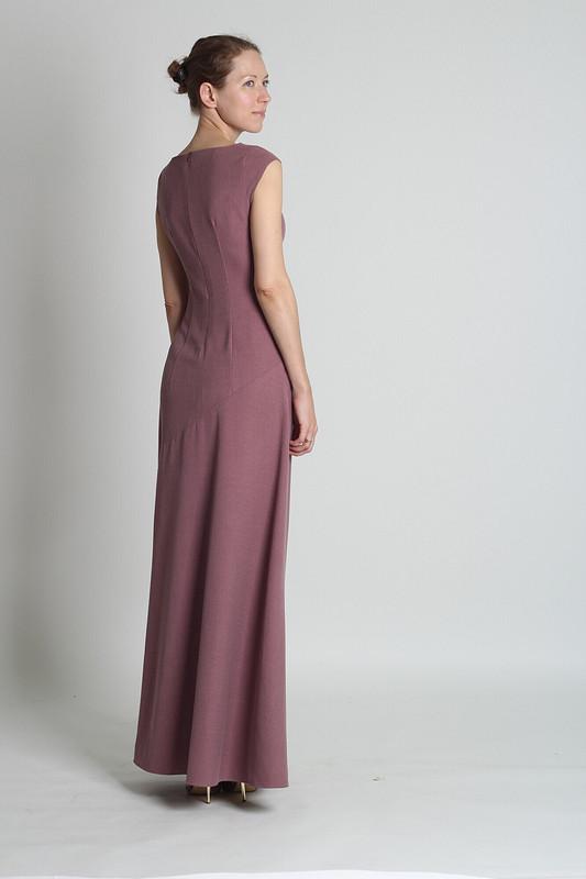 Платье сдрапировкой