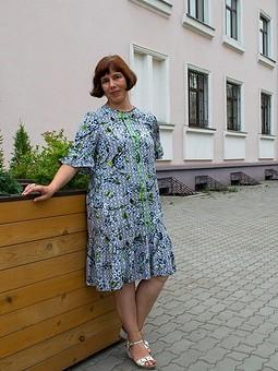 Работа с названием Оля, с днём рождения! Платье-отдых