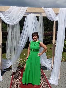 Работа с названием На зеленую свадьбу!