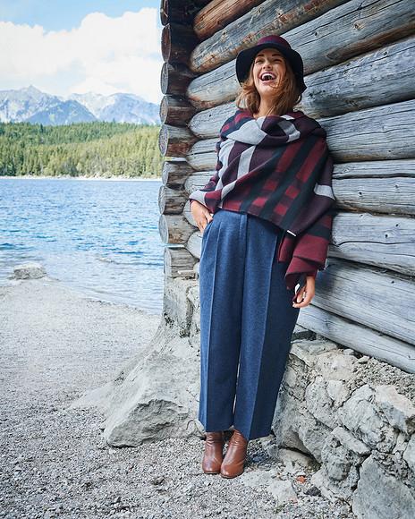 Первый анонс Burda. Мода дляполных осень-зима 2017