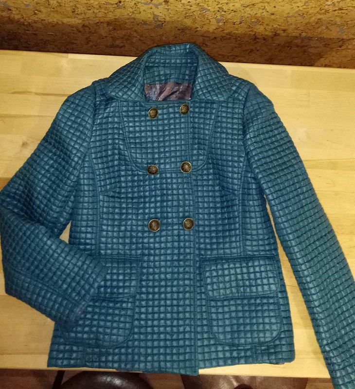 Куртка повыкройке пальто