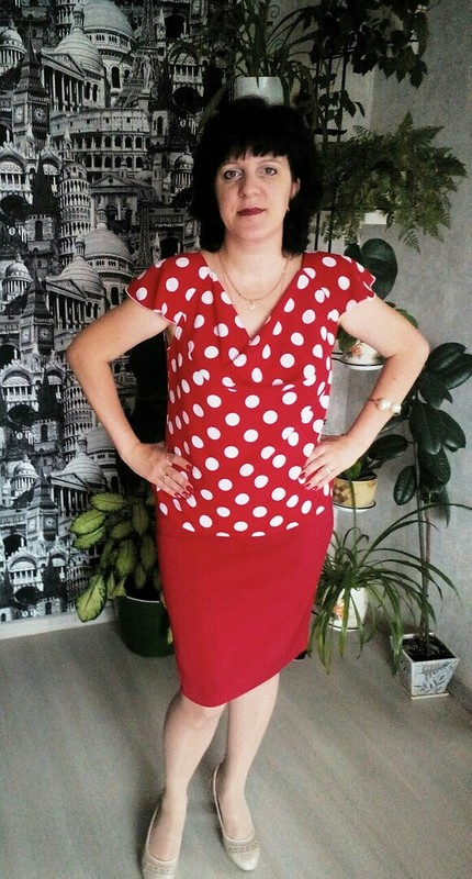 Блуза вгорошек  - Обновка кДР