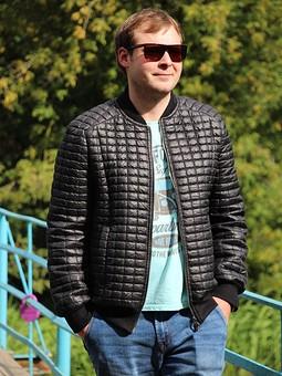 Работа с названием Куртка мужская