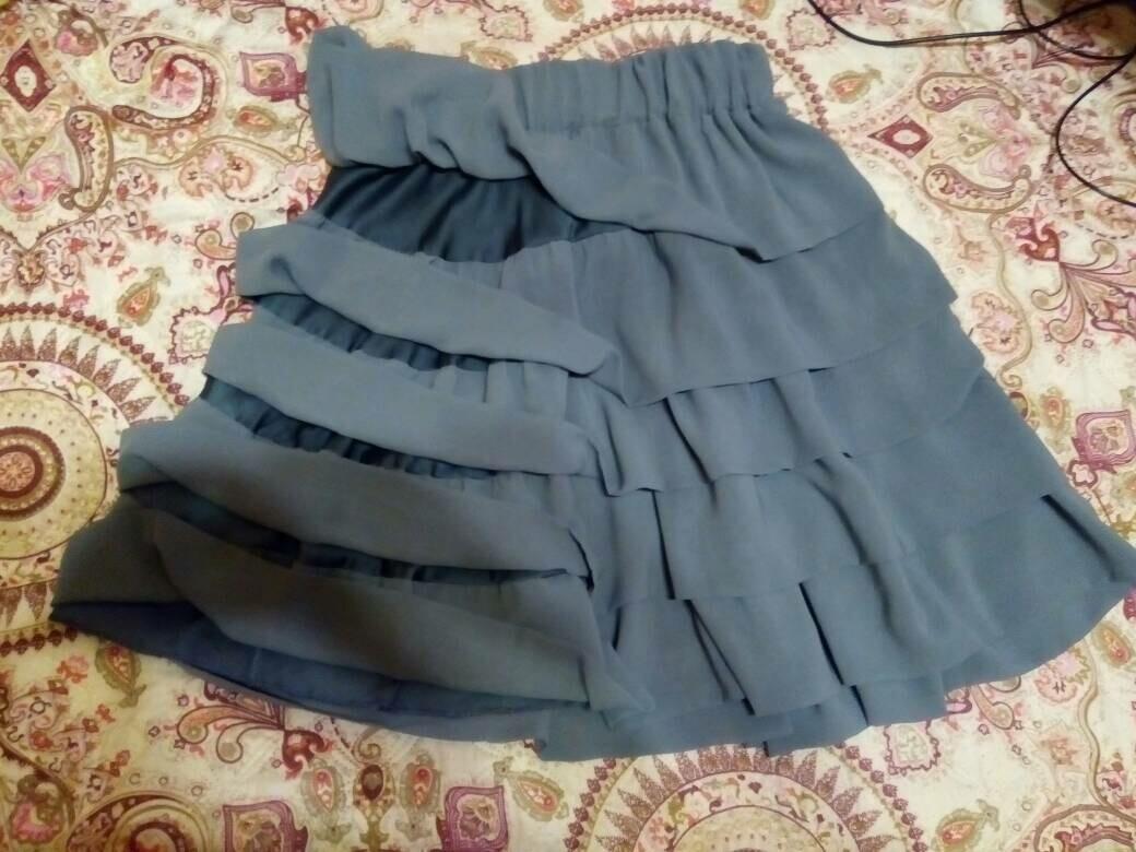 Шифоновая юбка