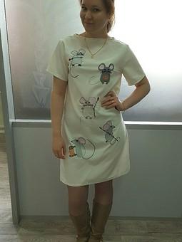 Работа с названием Платье D&G