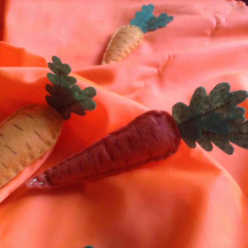 Две морковки «зажигали» наморковном фестивале от modeliani