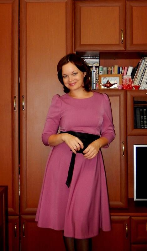 Розовое платье от Катя Лузина