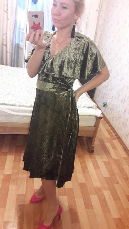 Бархатное платье от Vikusik