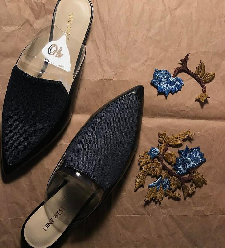 Вышитая обувь - мюлы от impromp-two