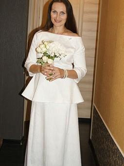 Работа с названием Венчальное платье