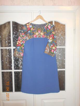 Платье изплатка