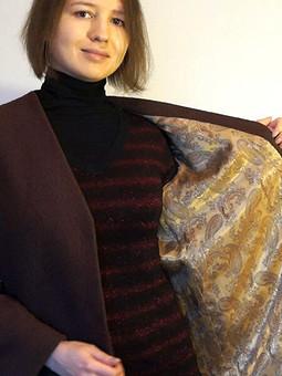 Работа с названием Шоколадное пальто