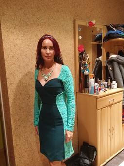 Работа с названием Платье для встречи  2015 Нового года