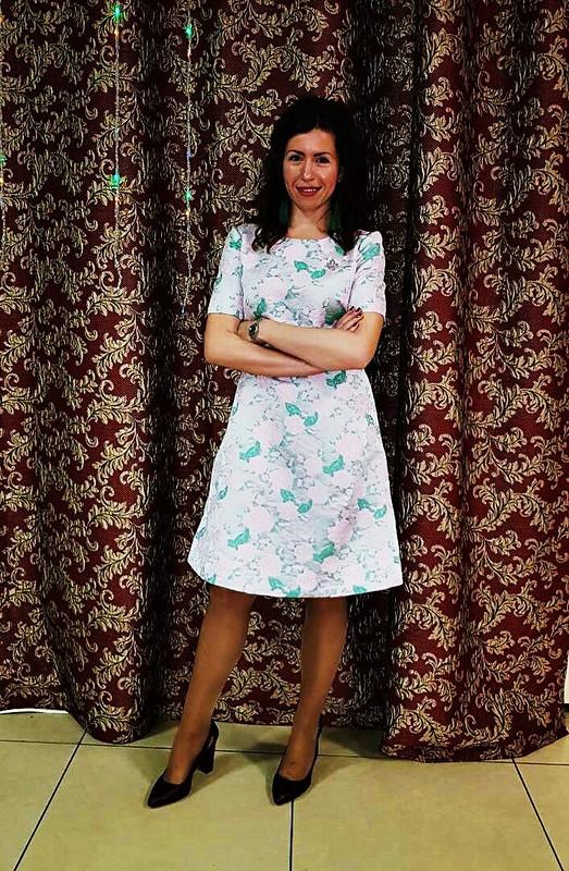Жаккард+розы от Ирина кудряшка
