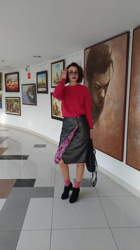 Юбка изтвида ишифона от Olga_25
