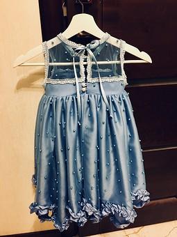 Работа с названием Платье для девочки 3,5 года
